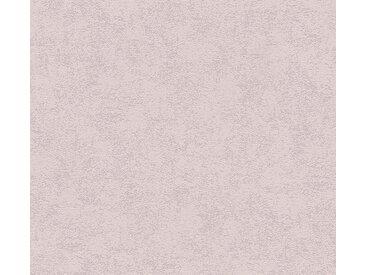 A.S. Création Vinyltapete, Unitapete Lila Papiertapete 360812 Wandtapete Modern Strukturiert