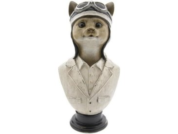 Clayre & Eef Tierfigur » Dekoration Katze Multi 15*11*30 cm«