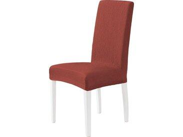 Dohle&Menk Stuhlhusse »Teide«, monoelastische Stretchware mit hohem Baumwollanteil, rot, bordeaux