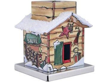 KNOX Räucherhaus »Sauna«, Mini-Räucherhaus 4,5cm aus Metall