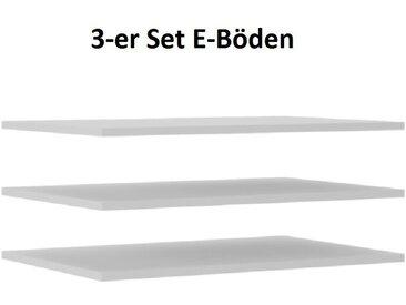 Küchen-Preisbombe Hochschrank »3er Set Einlegeböden für Schwebetürenschrank Trend 150 Weiss«
