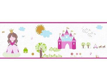 living walls Bordüre »Little Stars«, glatt, Borte Prinzessin Kinderzimmer, Vlies, PVC-frei, bunt, weiß-bunt