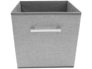 HTI-Line Aufbewahrungsbox »Paloma mit Griff«, grau, Grau