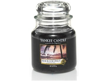 Yankee Candle Duftkerze »Classic Housewarmer Mittel Black Coconut«