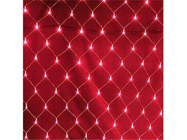 TOPMELON Lichterkette, LED Net Mesh Lichterkette, Wasserdicht, 4 Größen,Weihnachtsdekoration, rot, 880 St., Rot