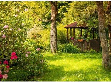 Papermoon Fototapete »Magic Garden«, glatt, 4 St.