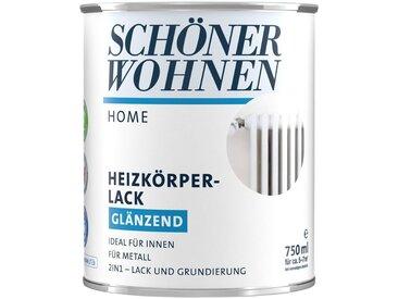 SCHÖNER WOHNEN-Kollektion SCHÖNER WOHNEN FARBE Lack »Home Heizkörperlack«, glänzend, 750 ml, weiß, weiß, Inhalt: 750ml, weiß