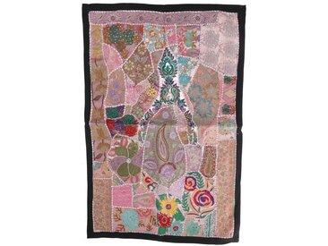 Guru-Shop Wandteppich »Indischer Wandteppich Patchwork..«, Höhe 65 mm, Muster 7