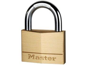Master Lock Vorhängeschloss, Sicherheitsklasse 4, (Set, 2-tlg), Messing, gleichschließend