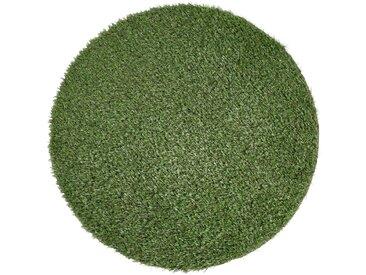 Andiamo ANDIAMO Kunstrasen »Sansibar«, Ø 133 cm, grün, grün, Komfort-Qualität, grün