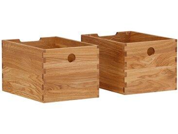 Premium collection by Home affaire Schubkasten »4A4«, aus massiver Eiche, als Schublade oder Aufbewahrungsbox verwendbar, Breite 24 cm