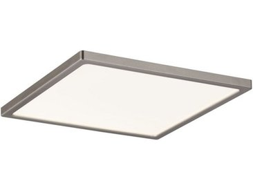 Paulmann LED Einbaustrahler »Panel Areo IP23 eckig 180x180mm 12W 3.000K Nickel matt IP23 Deckenmontage«