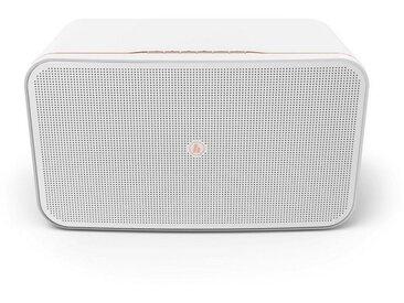 Hama WLAN Bluetooth Lautsprecher, Amazon Alexa, Smartphone/TV »WiFi-Streaming, 2100AMBT«, weiß, Weiß