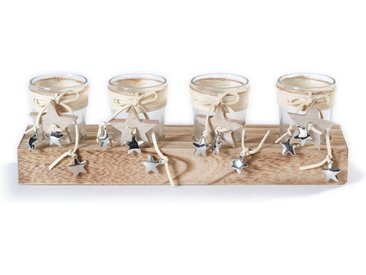 CHRISTMAS GOODS by Inge Adventsleuchter »Advents-Teelichthalter« (1 Stück), aus Holz