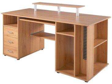 Schildmeyer Schreibtisch »Baku«, natur, kernbuchefarben