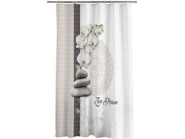 One Home Duschvorhang breite 180 cm, wasserdicht, Dream beige