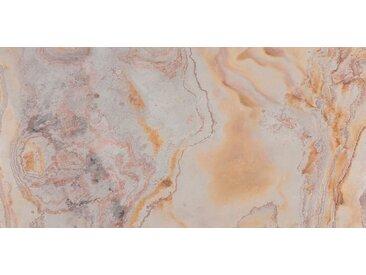 SLATE LITE Dekorpaneele »Blanco«, Naturstein, Stärke 1,5 mm, 122 x 61 cm, grau, 122 x 61cm, natur/grau/rot