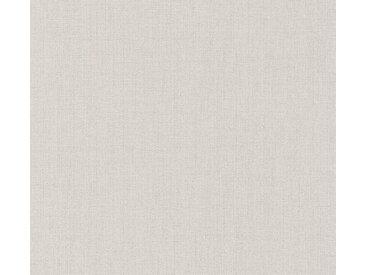 A.S. Création Vinyltapete, Unitapete Beige Papiertapete 363784 Wandtapete Modern Strukturiert