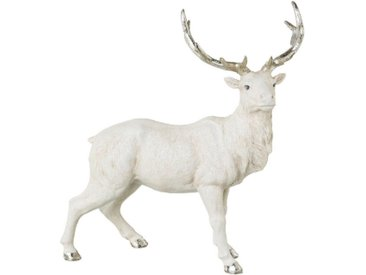 Tierfigur »stehender Hirsch« (1 Stück), geglittert