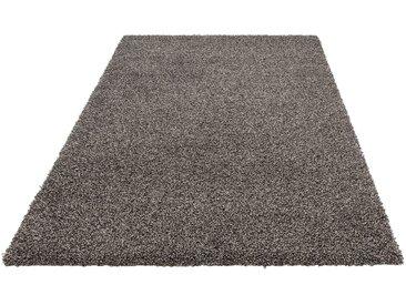 andas Hochflor-Teppich »Shaggy Melange«, rechteckig, Höhe 50 mm, mit Melange-Effeckt, grau, anthrazit-grau