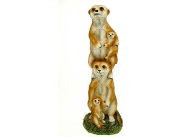 Kremers Schatzkiste Gartenfigur »Erdmännchenfamilie«