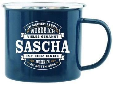 HTI-Living Becher »Echter Kerl Emaille Becher Sascha«