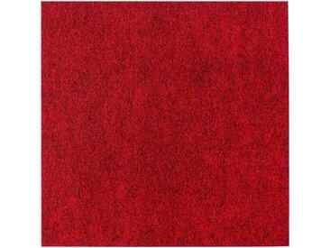 Andiamo ANDIAMO Teppichfliese »Skandi Nadelfilz«, 25 Stück (4 m²), selbstklebend, rot, rot