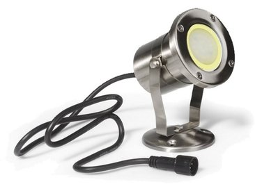 SPOT Light Gartenleuchte »Easy Connect«, Marke: CALI, EASY CONNECT Stainless Steel Spiked Spotlight, IP68/2m, GU10 MR20 LED 4W