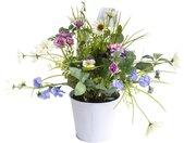 Botanic-Haus Kunstblume »Sommerblumen« Sommerblumen, Höhe 42 cm, beige
