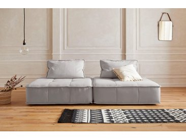 Guido Maria Kretschmer Home&Living Big-Sofa »Montpellier«, variabel, braun, sand