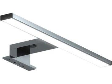 kalb Spiegelleuchte » LED Badleuchte Badlampe Spiegellampe Spiegelleuchte 230V warmweiss neutralweiss 300mm«, silberfarben, 4000 K
