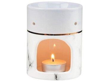BUTLERS Duftlampe » AMBIANCE Aromalampe Duftwax Marmor«, grau, Grau