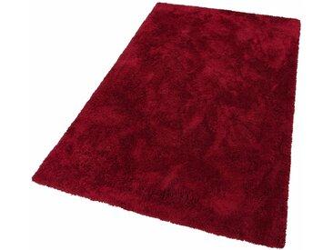 my home Hochflor-Teppich »Desner«, rechteckig, Höhe 38 mm, Besonders weich durch Microfaser, rot, rot