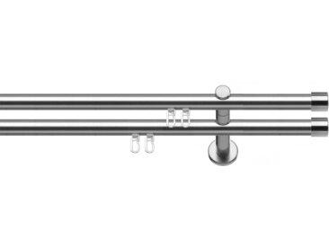 indeko Gardinenstange »Consul«, Ø 20 mm, 2-läufig, Wunschmaßlänge, 2 läufig