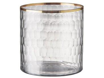 BUTLERS Teelichthalter » DELIGHT Teelichthalter mit Goldrand«