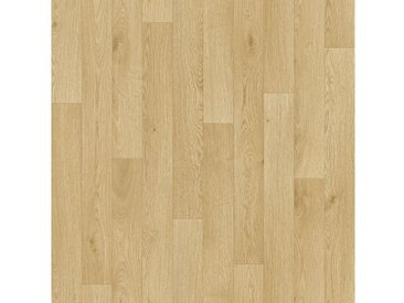 Andiamo Vinylboden »Impression«, Breite 300 und 400 cm, Meterware, Stabparkett, braun, natur-hellbraun