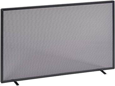 Firefix FIREFIX Funkenschutzgitter mit Gittergeflecht, 80 x 52 cm, schwarz, schwarz