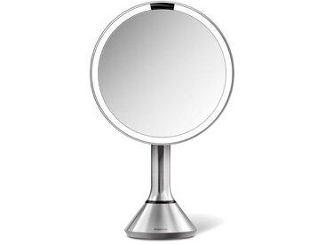 simplehuman Spiegel »20 cm Sensorspiegel mit Touch-Helligkeitsregelung«, silberfarben, silberfarben