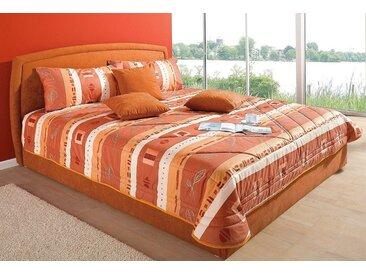 Westfalia Schlafkomfort Tagesdecke, orange, terra