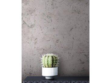 Newroom Vliestapete, Grau Tapete Beton Modern - Betonoptik Betonwand Anthrazit Zement Industrial für Schlafzimmer Wohnzimmer Küche, grau, Beton,Zement