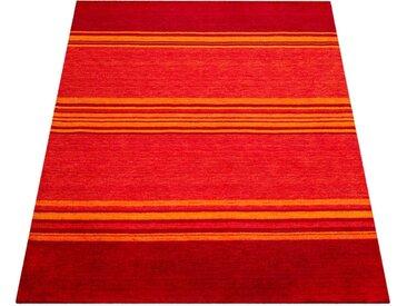 Paco Home Teppich »Gabbeh 307«, rechteckig, Höhe 14 mm, handgefertigter Kurzflor, Gabbeh-Stil, braun, terrakotta
