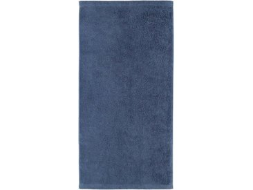 Cawö Badetuch »Lifestyle Uni« (1-St), aus 100% Baumwolle, blau, nachtblau