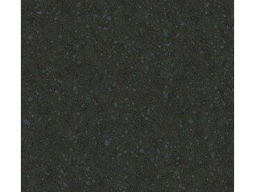 living walls Vliestapete »Saffiano«, einfarbig, uni, schwarz, schwarz