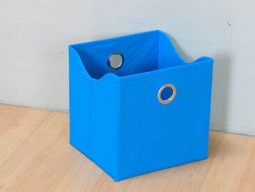 ebuy24 Aufbewahrungsbox »Marianne Textilbox, Breite 31 cm, Höhe 32 cm, blau«
