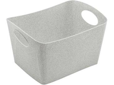 KOZIOL Aufbewahrungsbox »Boxxx S Organic Grey 1 L«