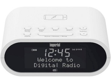 IMPERIAL by TELESTAR kompakte DAB+ und UKW-Radiowecker, Matrix-Display »DABMAN d20«, white