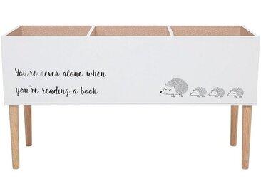 Bloomingville Spielzeugtruhe »Bücherkasten - Spielzeugbox«