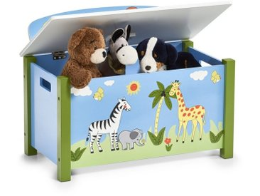 HTI-Living Sitztruhe »Sitztruhe Spielzeugkiste«, blau, Hellblau