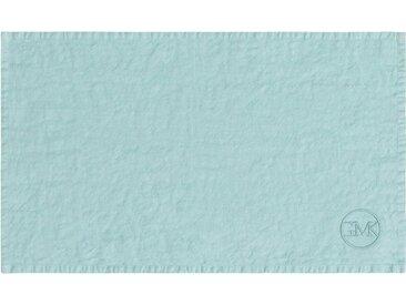 Guido Maria Kretschmer Home&Living Platzset »stone washed« (1-tlg), aus gewaschenem Leinen, blau, hellmint
