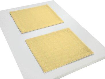 Adam Platzset, »Graphic Ventus Light«, (Packung, 2-St), gelb, hellgelb